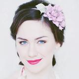 """""""Роза мини"""" розовый, ободок"""