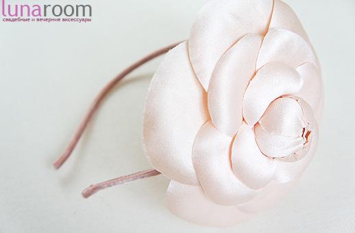 Ленты для волос шляпки шелковые цветы