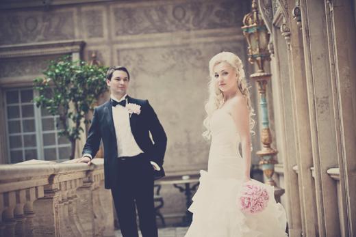 Наша прекрасная невеста Милена - нежный свадебный образ!