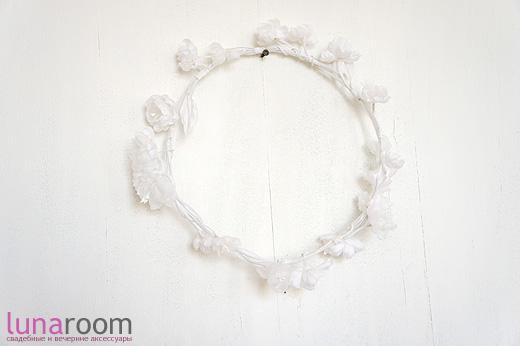 Наши новинки: венок с белыми цветами, прекрасные маки, шляпы и винтажные серьги-клипсы!