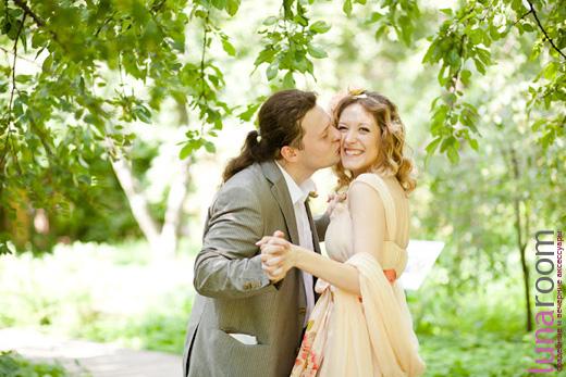 Аня и Павел - свадьба в нежных персиковых оттенках!