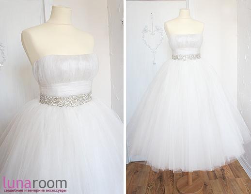 А теперь у нас и свадебные платья - готовые и на заказ по Вашим эскизам!