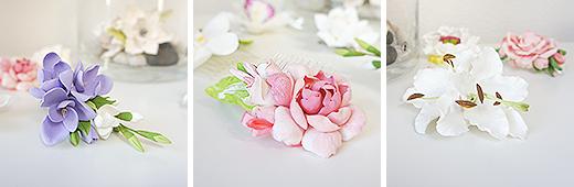 У нас новинки - цветы из полимерной глины! Прекрасные!