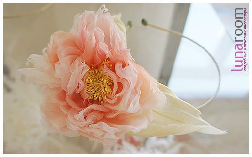 Новинки - шляпки, ободки и цветы из шелка!