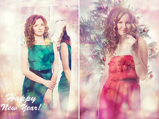 Рождественская фотосессия LUNAROOM - фотографии!