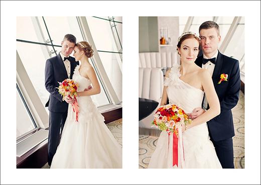 Наши невесты - Мария! Свадебная прическа с ободком из перламутра!