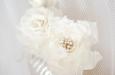 Белые розы на гребешке. Фото 3.