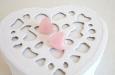 """Baby pink hearts"" серьги. Фото 2."
