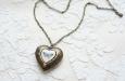 """""""Butterfly Heart"""" медальон. Фото 1."""