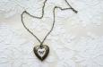 """""""Butterfly Heart"""" медальон. Фото 2."""