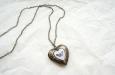 """""""Butterfly Heart"""" медальон. Фото 3."""