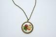 """""""Vintage Flowers"""" медальон. Фото 1."""