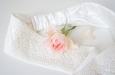 """""""Кружевные цветы"""" повязка для волос . Фото 1."""