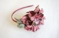 """Камелия """"Парижанка"""" розовый, ободок. Фото 1."""