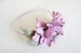"""""""Роза мини"""" розовый, ободок. Фото 2."""