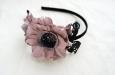 """Камелия """"Парижанка"""" нежно-розовый, ободок. Фото 2."""
