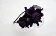 """""""Роза мини"""" фиолетовый, ободок для волос. Фото 1."""