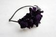 """""""Роза мини"""" фиолетовый, ободок для волос. Фото 3."""