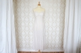 Платье длинное из натурального шелка с вышивкой. Фото 1.