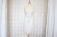 Платье короткое из натурального шелка с вышивкой. Фото 1.