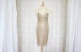 Платье короткое с накидкой из гипюра. Фото 1.