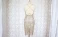 Платье короткое с накидкой из гипюра. Фото 2.