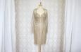Платье короткое с накидкой из гипюра. Фото 3.