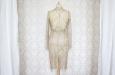 Платье короткое с накидкой из гипюра. Фото 4.