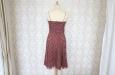 Платье короткое в белый горох из натурального шелка. Фото 3.