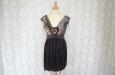 Платье короткое, темно-фиолетовое. Фото 1.
