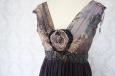 Платье короткое, темно-фиолетовое. Фото 2.