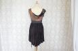 Платье короткое, темно-фиолетовое. Фото 3.