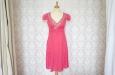 Платье короткое розовое. Фото 1.