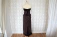 Платье бархатное длинное с корсетом. Фото 3.
