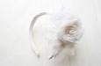"""""""Сливочная мечта"""" ободок для волос . Фото 2."""