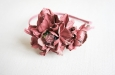 """Камелия розовая"" ободок для волос. Фото 3."