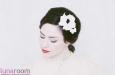 """Камелия """"Парижанка"""" ободок для волос, экрю. Фото 1."""