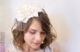 """""""Annette"""" шляпка с вуалью. Фото 4."""