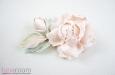 """""""Шелковая роза"""" веточка с бутоном, персиковая. Фото 1."""