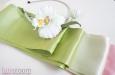 """""""Весенний букет"""" шелковый пояс. Фото 2."""