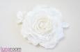 Роза из шелка и кружева. Фото 2.