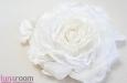 Роза из шелка и кружева. Фото 3.