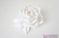 """Бэлла"" роза, шелк белый. Фото 3."