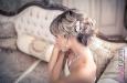 Украшение для волос с натуральным жемчугом. Фото 1.