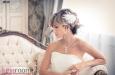"""""""Шелк и кружево"""" украшение для волос, экрю, гребень. Фото 1."""