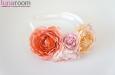 """""""Мечты и цветы"""" ободок для волос. Фото 1."""