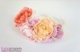 """""""Мечты и цветы"""" ободок для волос. Фото 2."""