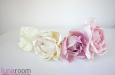 """Веточка с розами """"Ланком"""" шелк натуральный. Фото 3."""