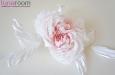 """""""Жози"""" роза белая, натуральный шелк. Фото 3."""