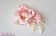 """Розы """"Мини"""" нат.шелк, розовый, 3 шт. Фото 4."""
